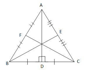 perpendicular bisector of Triangle